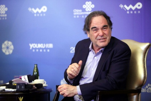 2014 Beijing International Film Festival - Director Oliver Stone Interview