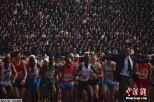 Pyongyang Marathon 2014a
