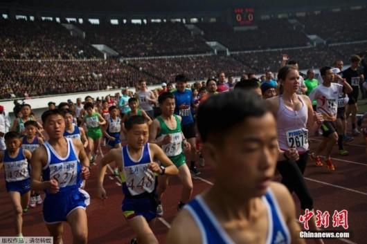 Pyongyang Marathon 2014d