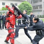 Sichuan Police vs. Iron Man: Who You Got?