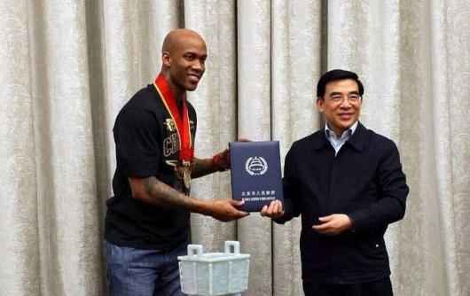 Stephon Marbury made honorary Beijing citizen