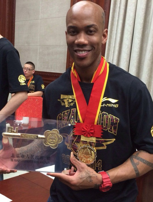Stephon Marbury made honorary Beijing citizen and given key to city