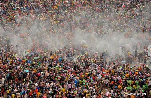 Water-splashing festival Xishuangbanna 2