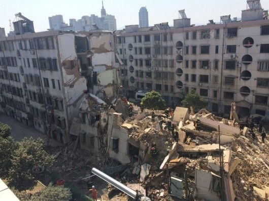 Zhejiang building collapses