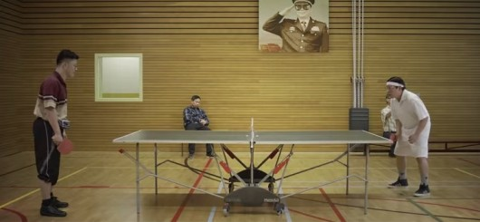 Armin Van Buuren's Ping Pong Music Video 1