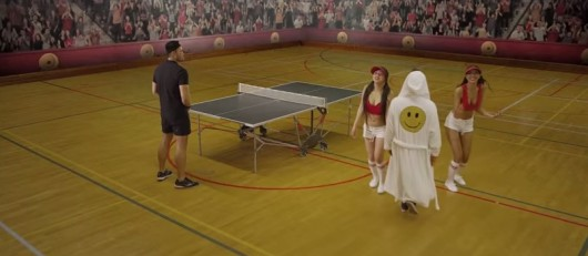 Armin Van Buuren's Ping Pong Music Video 2