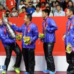 Chinese men's team wins table tennis ping pong championship
