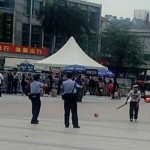 Guangzhou Railway Station attacker subdued 2