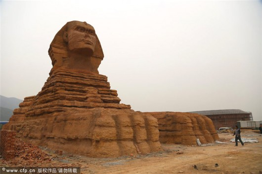 Replica Sphinx in Hebei