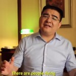 "Friday Night Musical Outro: Chen Guangbiao Sings ""We Are The World"""