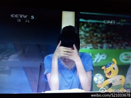 Liu Yixi cries after Italy loss 3