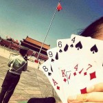 Tiananmen playing cards remembering 6-4-89