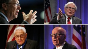 Former Rui associates included Bill Gates, Warren Buffett, Rupert Murdoch and Henry Kissinger