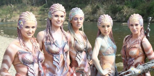 Empires of the Deep mermaids