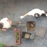 Is This Gutter Oil Being Scooped From A Shanghai Alley?