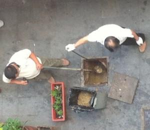 Gutter oil Shanghai