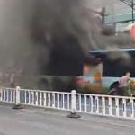 Hangzhou bus fire