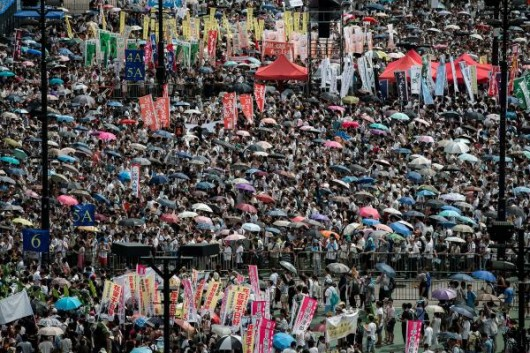 Hong Kong rally