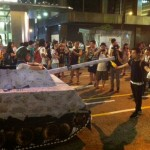 Hong Kong Stages Pro-Democracy Sit-Down, Its Biggest Rally In A Decade