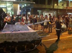 Hong Kong rally July 1, 2014