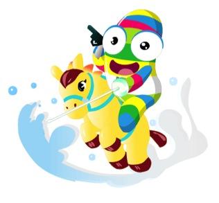 Nanjing Youth Olympics mascot 3