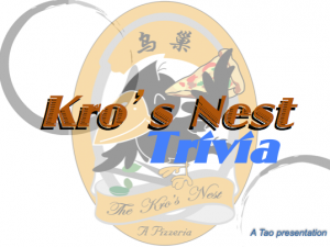 The Kro's Nest quiz