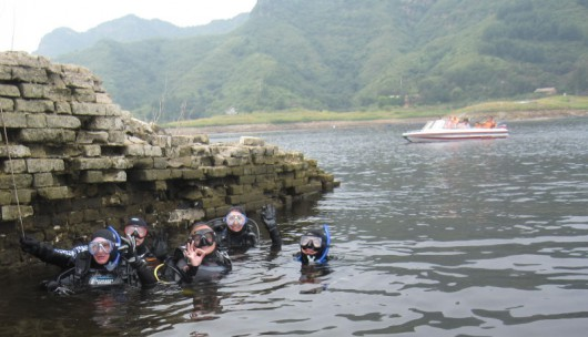 Diving The Great Wall of China 1