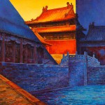 Hutongs And Palaces: Tian Li's Beijing In Oil And Wood Block