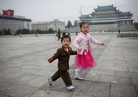 Pyongyang, Coree Du Nord