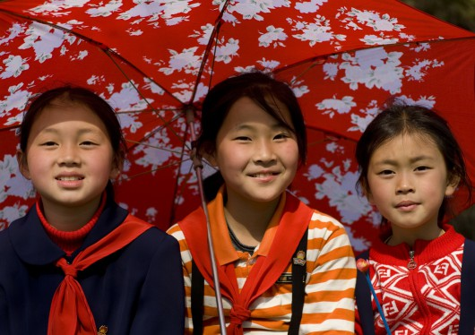Young Pioneers In Pyongyang, North Korea