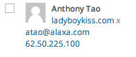 Anthony Tao imposter