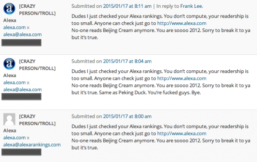 BJC troll Alexa