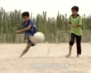 Uyghur soccer players from Hotan featured image