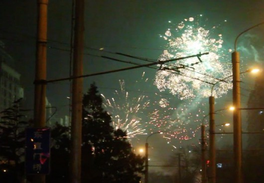 Chinese New Year fireworks 2015i