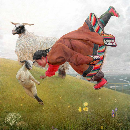 Wang Yiguang Tibetan paintings 4