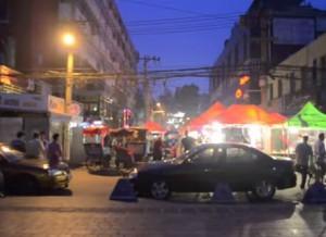Sanlitun street brawl