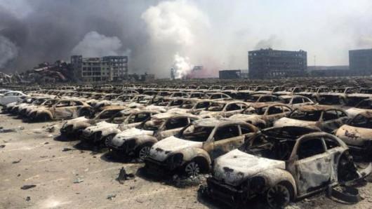Tianjin explosion 2