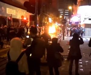 Hong Kong fishball riots